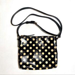 Kate Spade | Polka Dot Patent Leather Crossbody